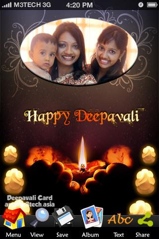 Deepavali Card- screenshot