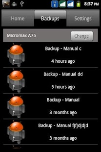 inDefend Mobile Backup- screenshot thumbnail
