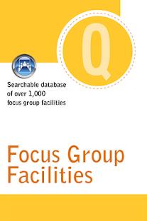 Quirk's Focus Group Facilities - screenshot thumbnail