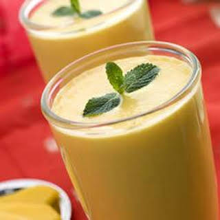 Delicious Mango Smoothie.