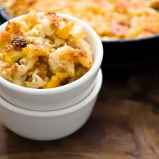 Cauliflower and Gruyere macaroni and cheese.