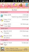 Screenshot of iBaby key