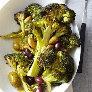 Roasted Broccoli and Olives