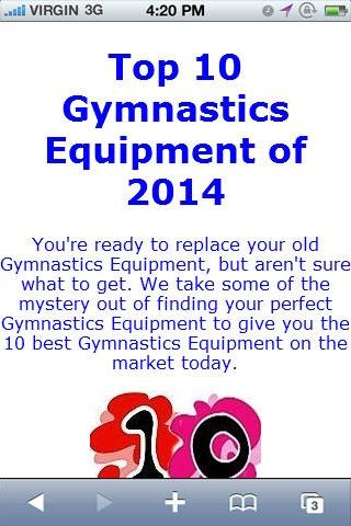 Gymnastic Equipment Reviews