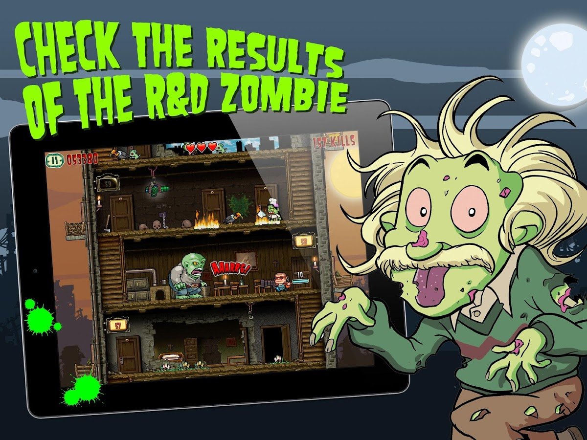 Crazy Bill: Zombie stars hotel - screenshot