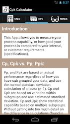 Download Cpk Calculator