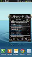 Screenshot of Warface Widget