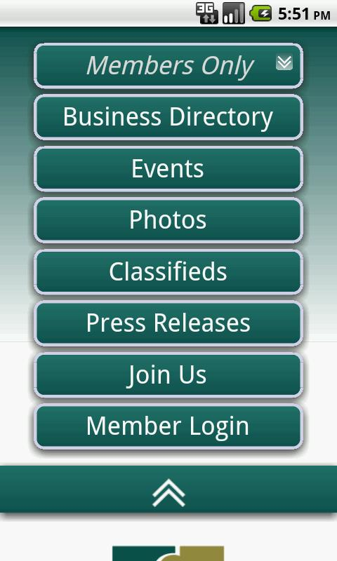 Glendale Chamber of Commerce- screenshot