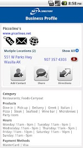 MTA Yellow Pages screenshot 4