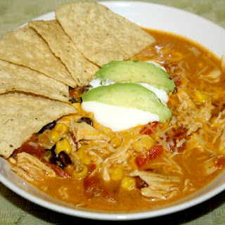 Chicken Enchilada Soup (Slow Cooker Meal)