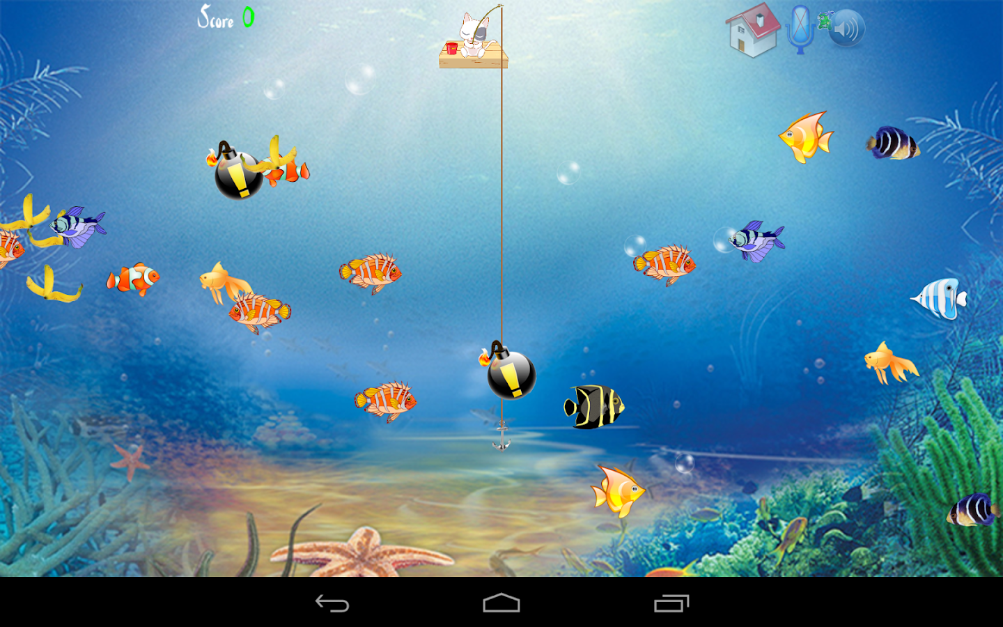 Cat fishing android apps on google play for Fishing game android