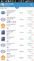 Screenshot of Prezzi Benzina - GPL e Metano