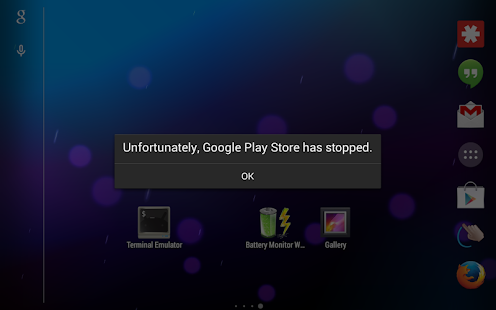 Play Store Crash Demo