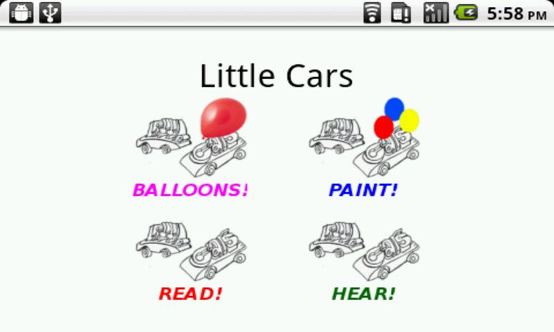 little cars- screenshot