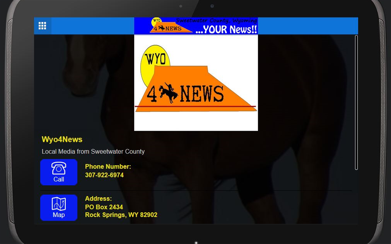 Wyo4News - screenshot