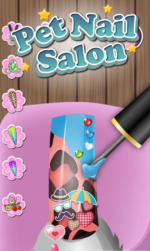 Pets nail salon kids games android apps on google play pets nail salon kids games screenshot prinsesfo Images