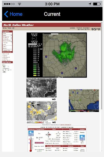 Dallas Texas Weather