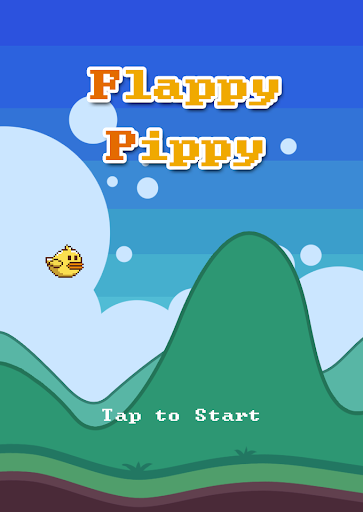 Flappy Pippy -orange-