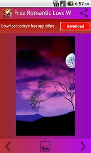 Romantická láska Tapety plochu - náhled