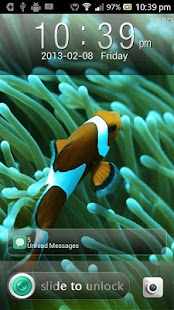 Classic Iphone Fish GO Locker - screenshot thumbnail