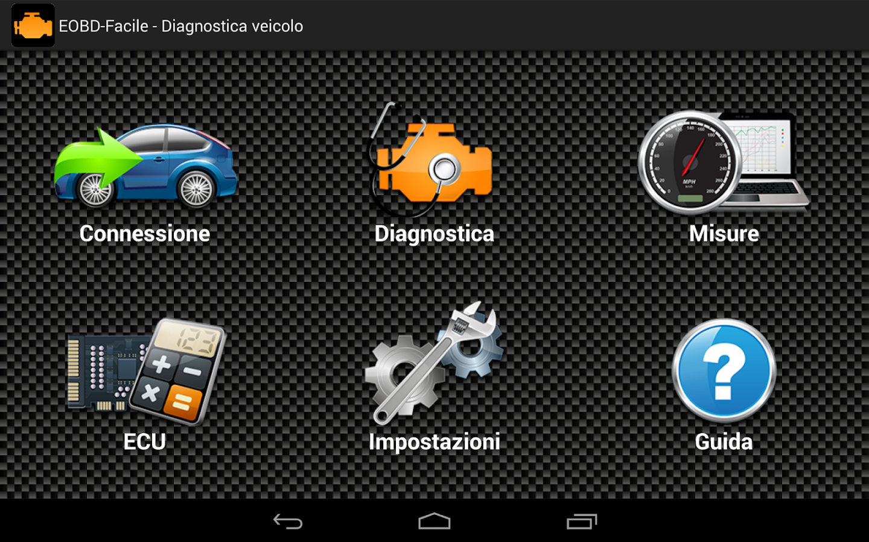 Eobd facile diagnosi automotive obd2 elm327 screenshot