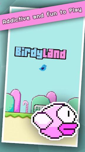 Birdy Land Flap - Minimal Game