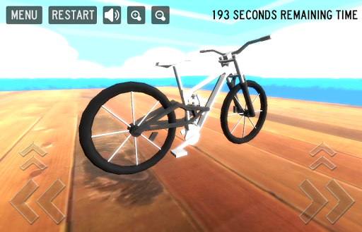 瘋狂的自行車遊戲3D