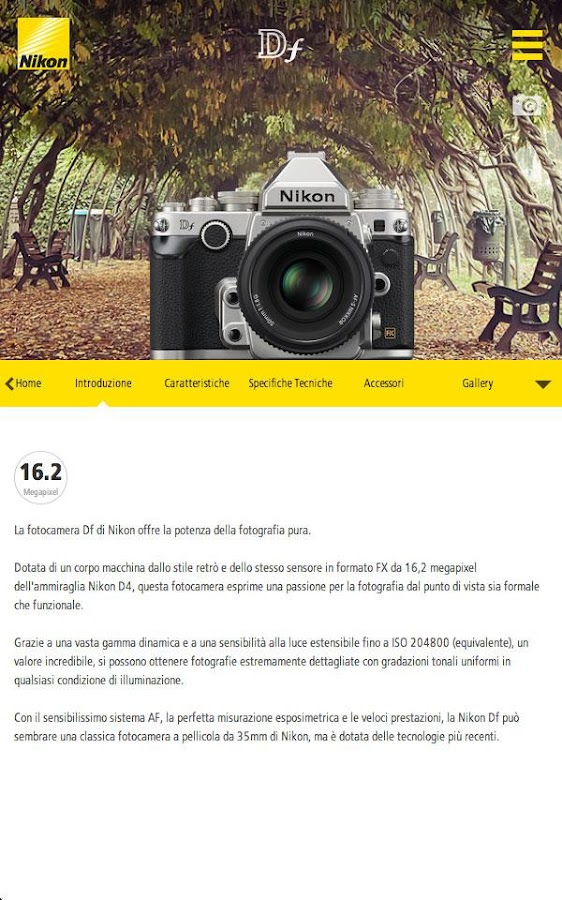 Nikon Reflex e Accessori- screenshot