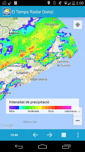 Radar el Temps beta