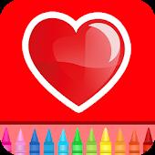 Walentynki miłość kolor gry