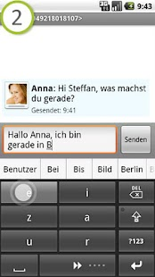 comfortTap Tastatur (DE)- screenshot thumbnail