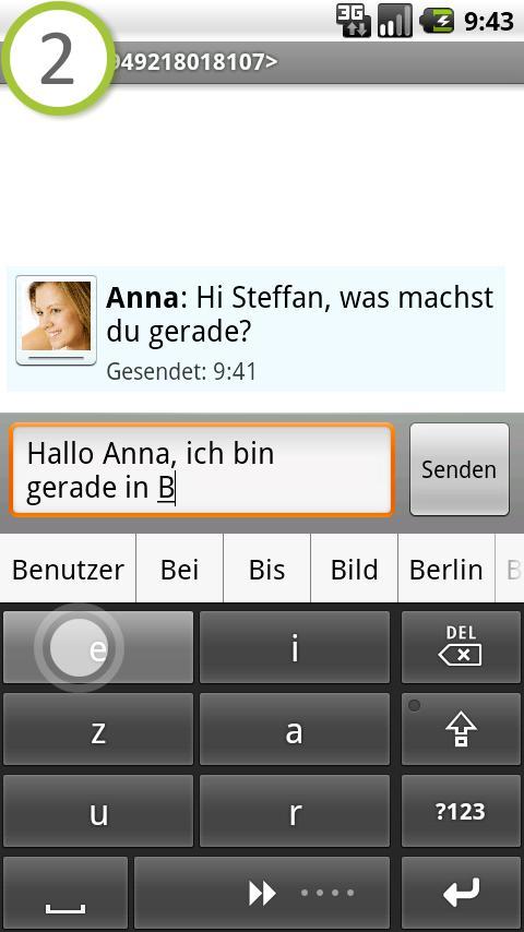 comfortTap Tastatur (DE)- screenshot