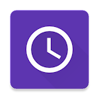 Android N Clock icon
