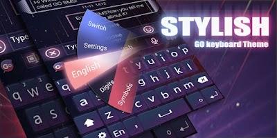Screenshot of Stylish GO Keyboard Theme