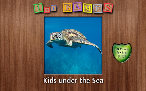1st Games Kids Under the Sea