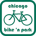 Chicago Bike 'n Park logo