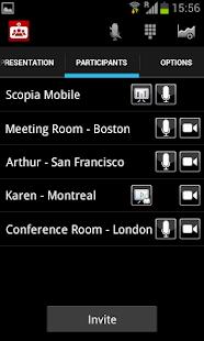 Avaya Scopia Mobile - náhled