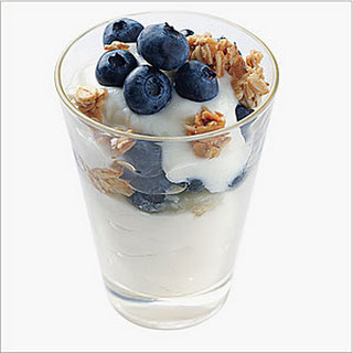 Blueberry Yogurt Parfaits