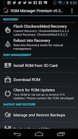 ROM Manager (Premium) Apk Download Free for PC, smart TV