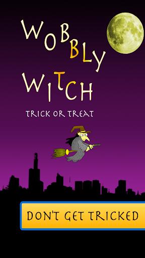 Wobbly Witch Trick or Treat