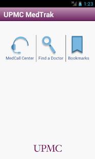 UPMC MedTrak- screenshot thumbnail