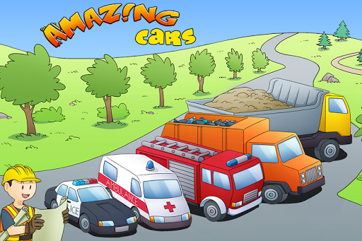 Amazing Cars - kids story book