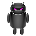ADW Theme Droid MoonGlow(Pink) icon