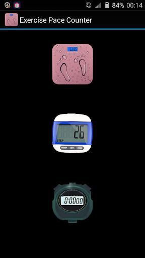 Balance Stopwatch Pace counter