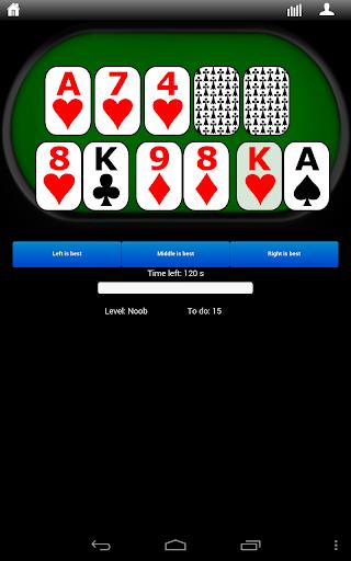 Poker Hands Trainer