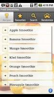 Screenshot of Fruit Smoothies