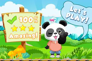 Screenshot of Lola Panda's Math Train 2 FREE