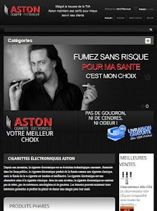 ASTON Cigarette électronique screenshot 1