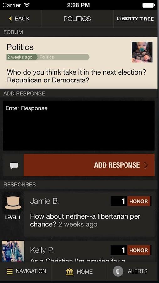 Liberty Tree - screenshot