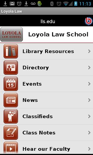 Loyola Law School Los Angeles